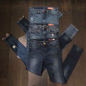 Girls Blank NYC size 10 jeans bundle